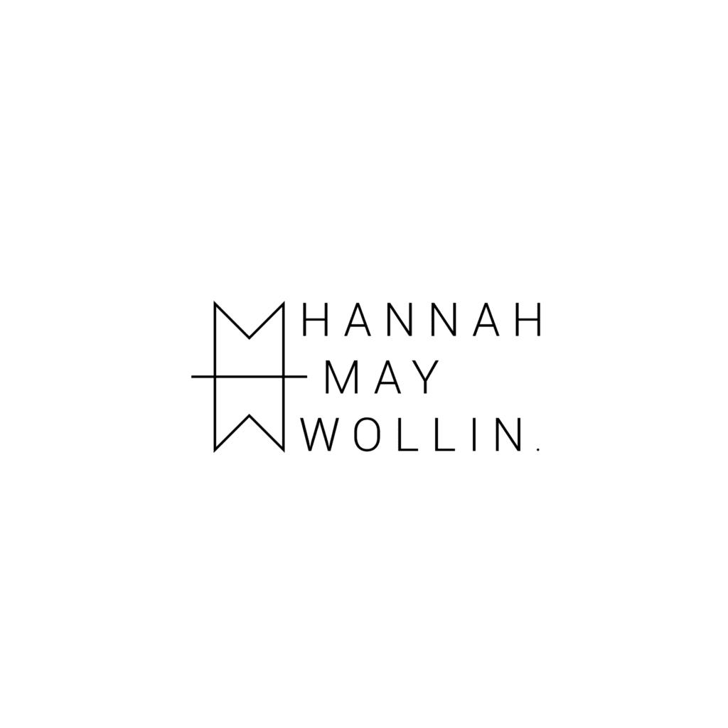 Hannah May Wollin Logo Design