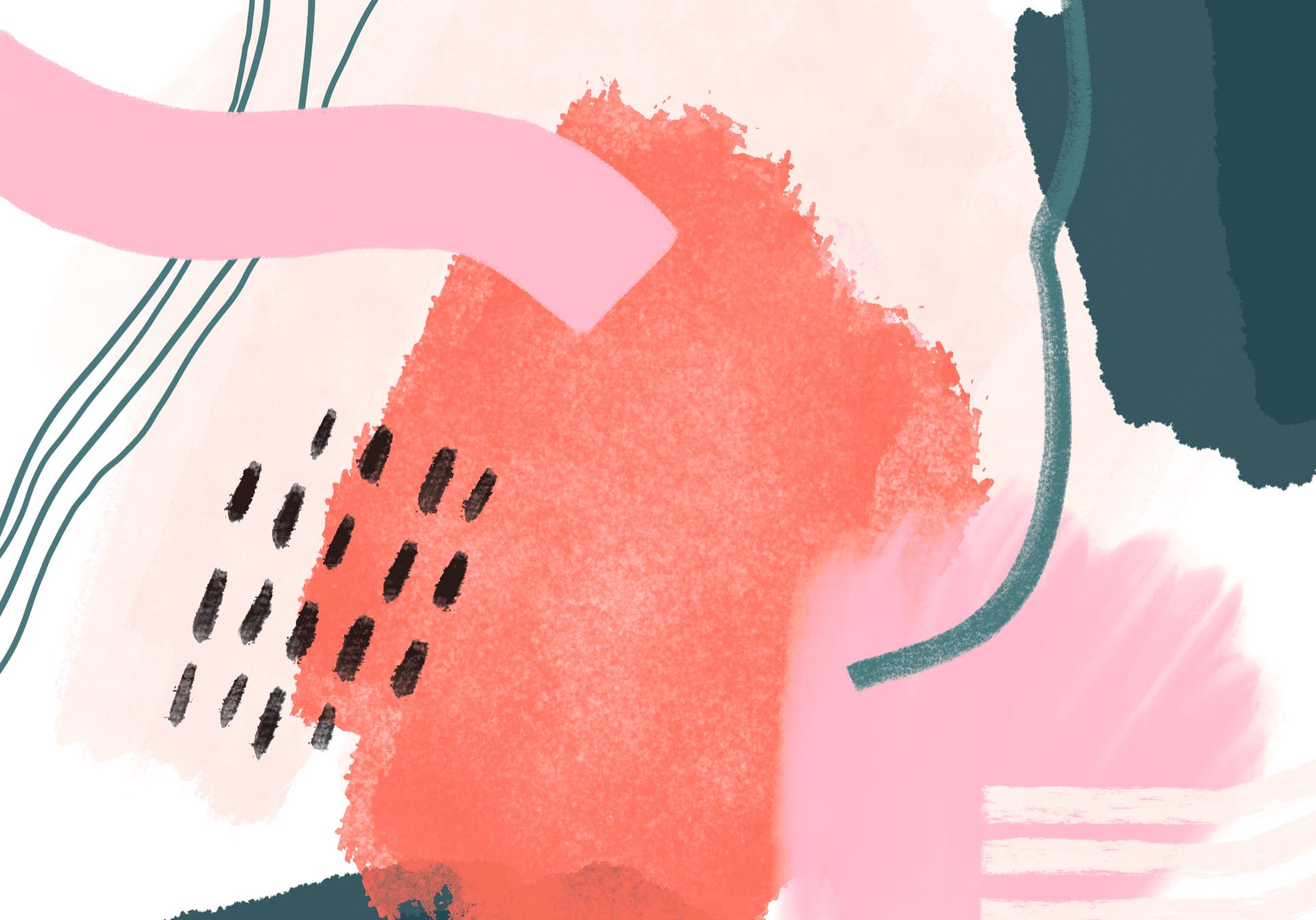 """fun bright multi color pattern - """"watermelon sugar"""""""